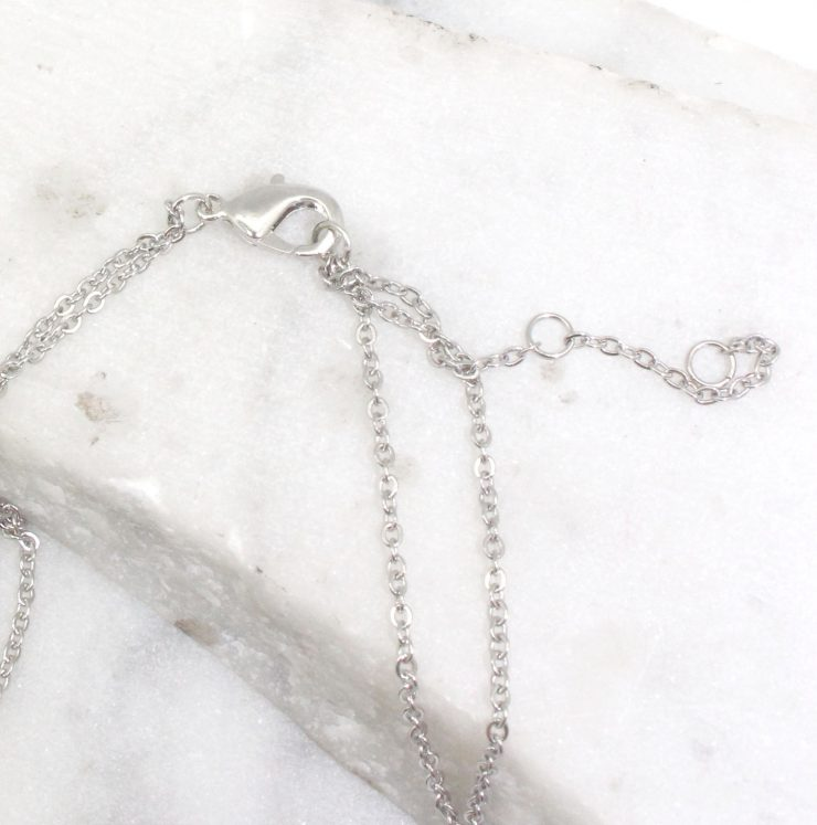 A photo of the Oval Link Long Necklace product