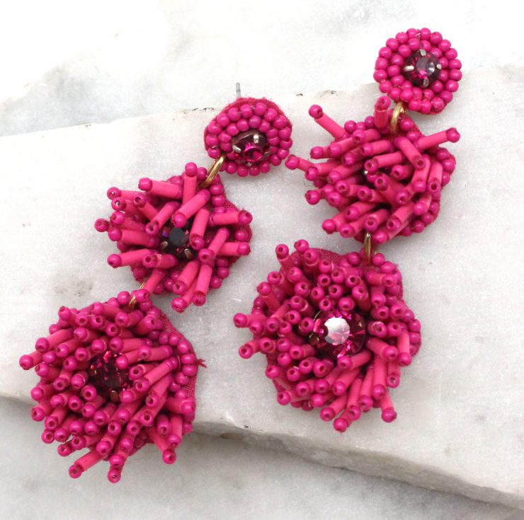 A photo of the Petal Earrings product