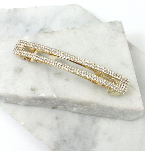A photo of the Rhinestone Barrette product