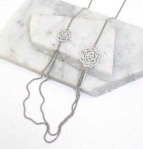 A photo of the Rose Garden Necklace product