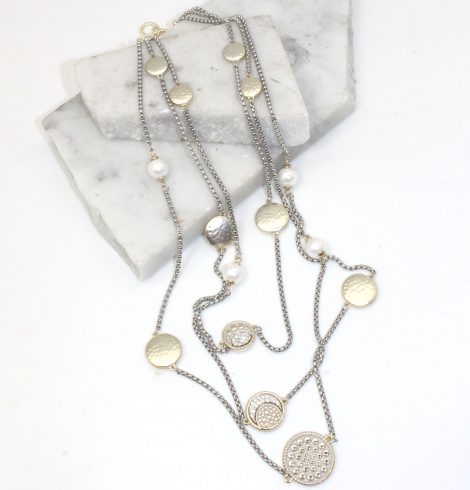 A photo of the Star Gazer Necklace product