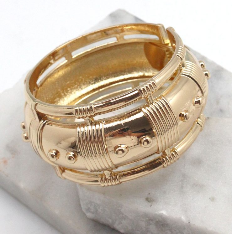 A photo of the Summer Bracelet in Gold product