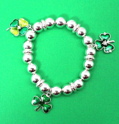 A photo of the Three Charm St. Patrick Bracelet product