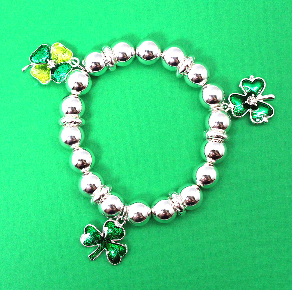 Three Charm St Patrick Bracelet Best