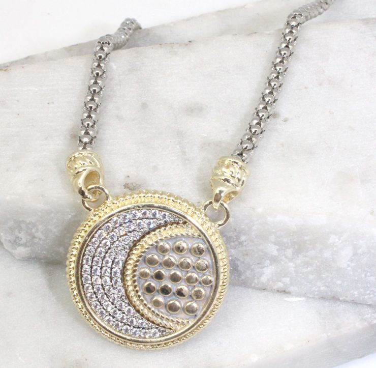 A photo of the To the Moon Necklace product