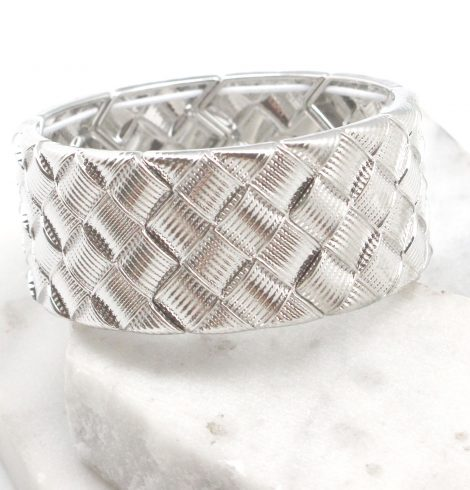 A photo of the Woven Cuff Bracelet product