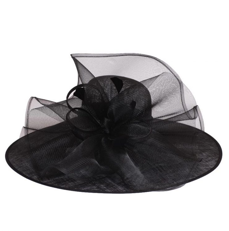 A photo of the Angelica Fascinator Hat product