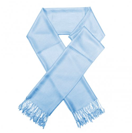 A photo of the Baby Blue Pashmina product