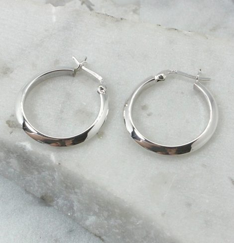 A photo of the Cagliari Hoop Earrings product
