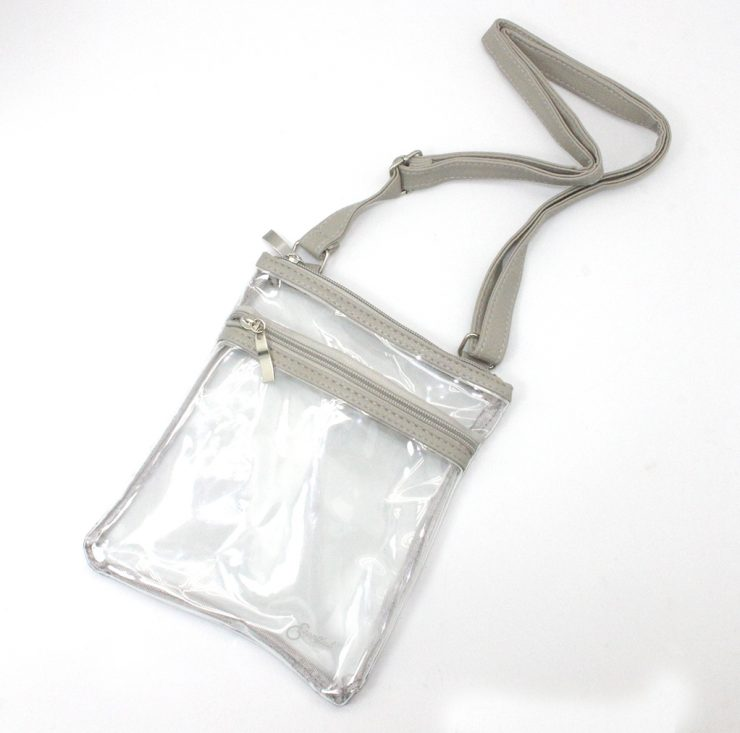 A photo of the Clear Cross Body Purse product