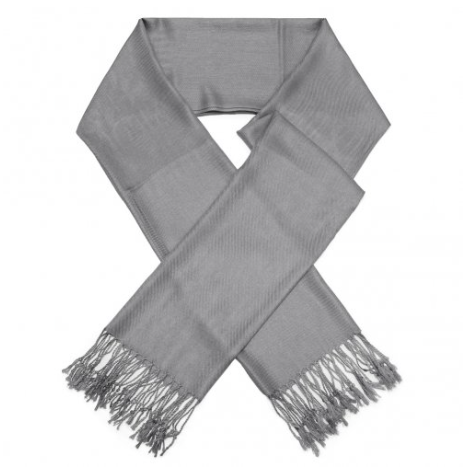 A photo of the Dark Grey Pashmina product
