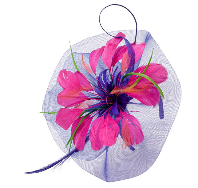 A photo of the Donatella Fascinator Headband product