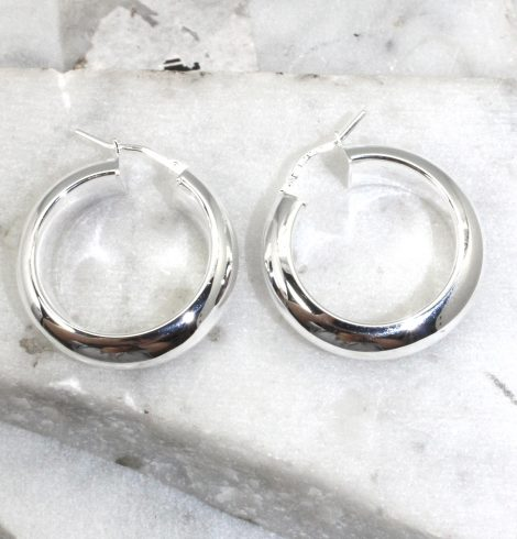 A photo of the Florence Hoop Earrings product