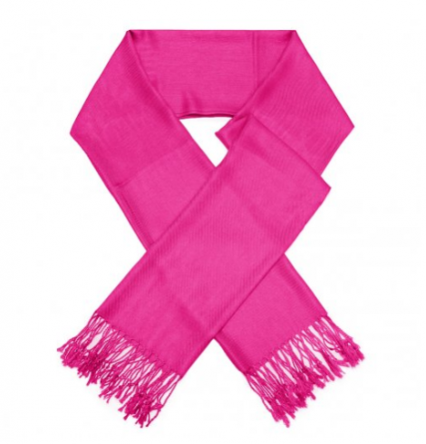A photo of the Fuchsia Pashmina product