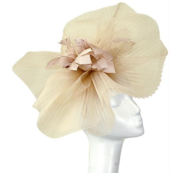 A photo of the Josephine Headband Fascinator product