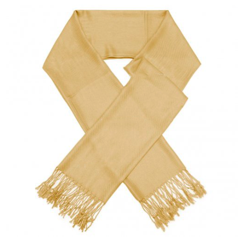 A photo of the Light Gold Pashmina product