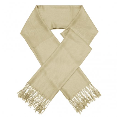 A photo of the Light Taupe Pashmina product