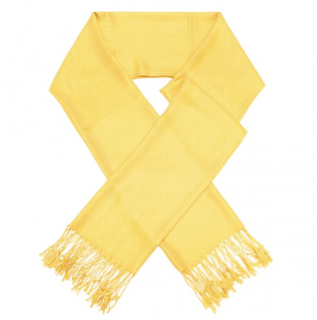 A photo of the Light Yellow Pashmina product