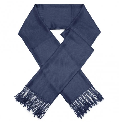 A photo of the Navy Pashmina product