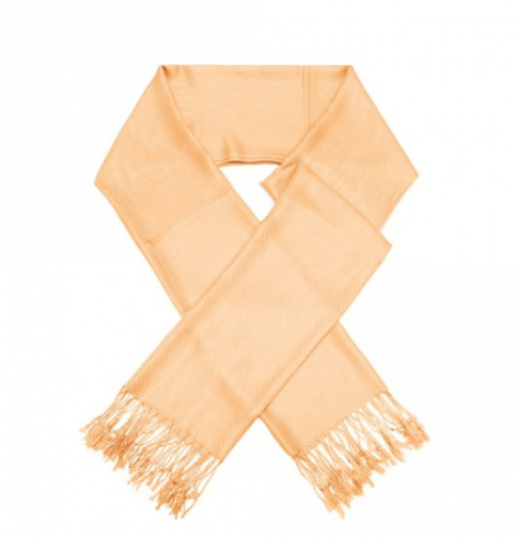 A photo of the Light Orange Pashmina product