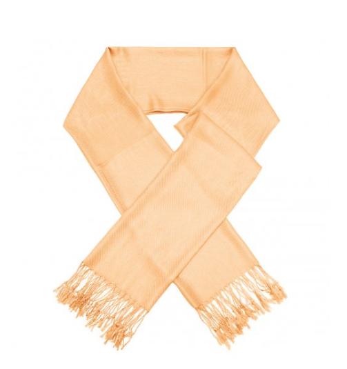 A photo of the Light Orange Pashmina product