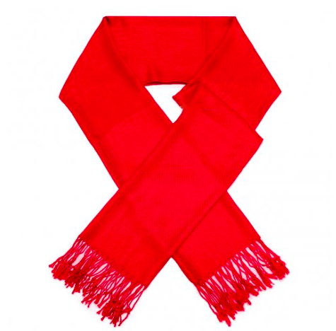A photo of the Red Pashmina product