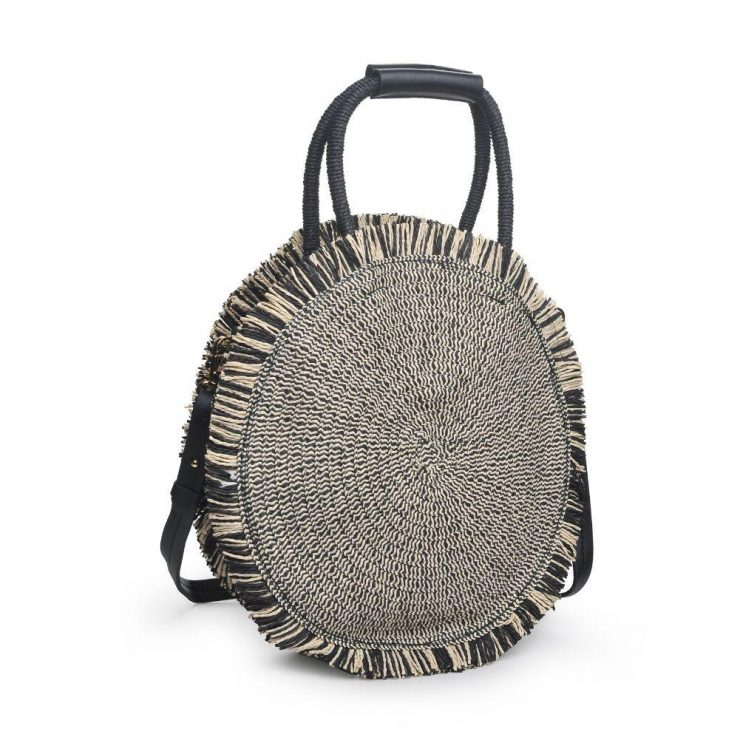 A photo of the Riviera Purse in Black product