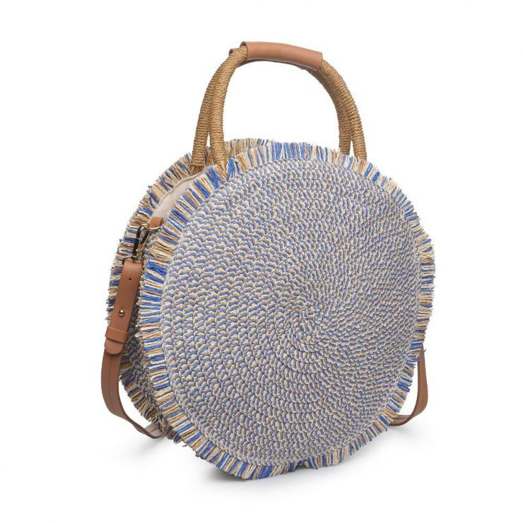 A photo of the Riviera Purse in Blue product