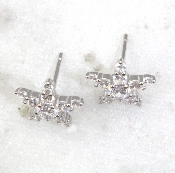 A photo of the Sandy Starfish Earrings product