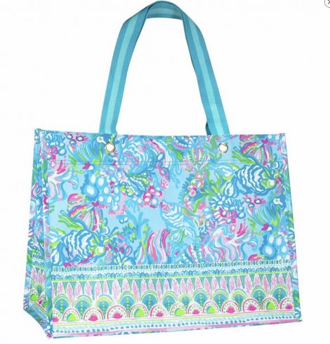 A photo of the XL Market Shopper in Aqua La Vista product
