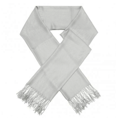 A photo of the Silver Pashmina product
