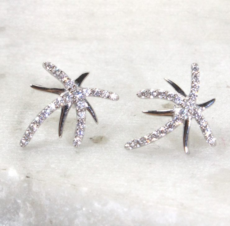 A photo of the Under the Palms Earrings product