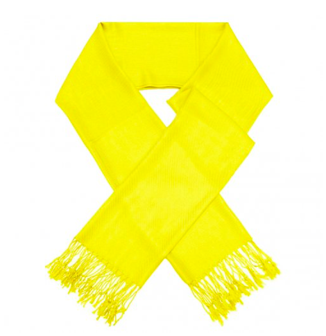 A photo of the Yellow Pashmina product