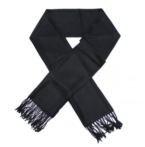 A photo of the Black Pashmina product