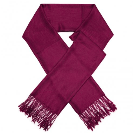 A photo of the Burgundy Pashmina product