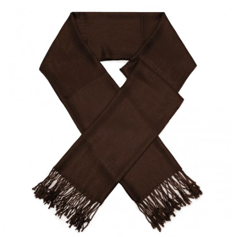 A photo of the Dark Brown Pashmina product