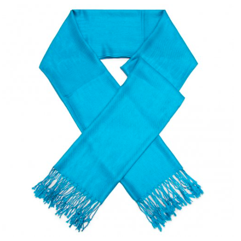 A photo of the Dark Turquoise Pashmina product