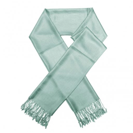A photo of the Powder Blue Pashmina product