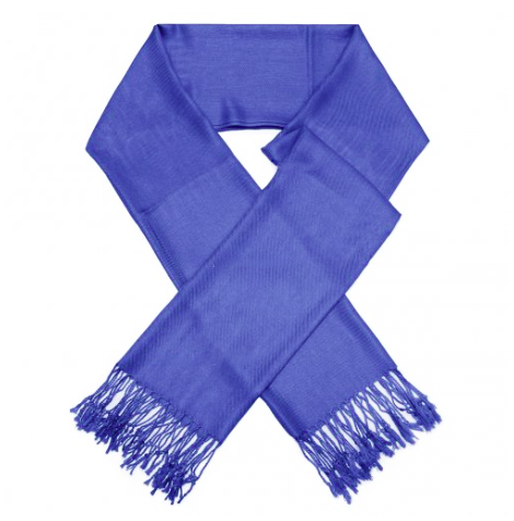 A photo of the Royal Blue Pashmina product
