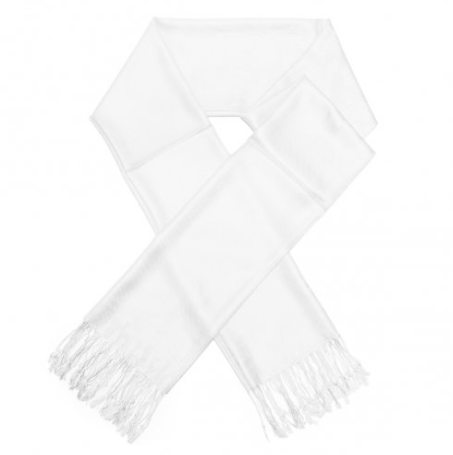A photo of the White Pashmina product