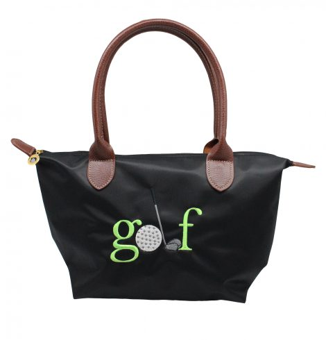 A photo of the Golf Nylon Tote In Black product