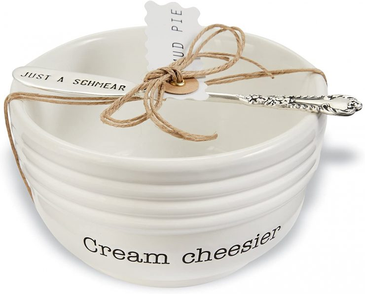 A photo of the Cream Cheese Dish Set product