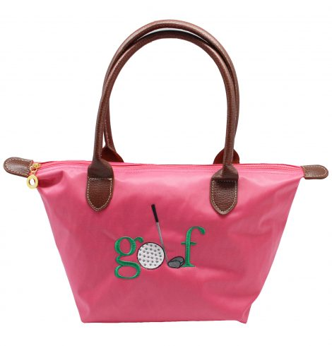 A photo of the Golf Nylon Tote In Pink product