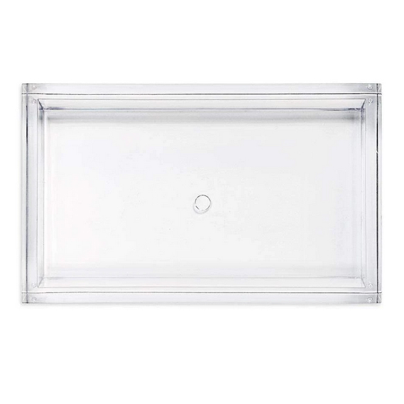 A photo of the Acrylic Guest Towel Holder In Clear product
