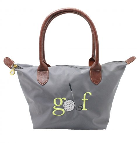 A photo of the Golf Nylon Tote In Grey product