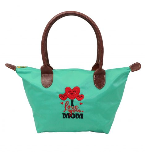 A photo of the I Love You Mom Tote product