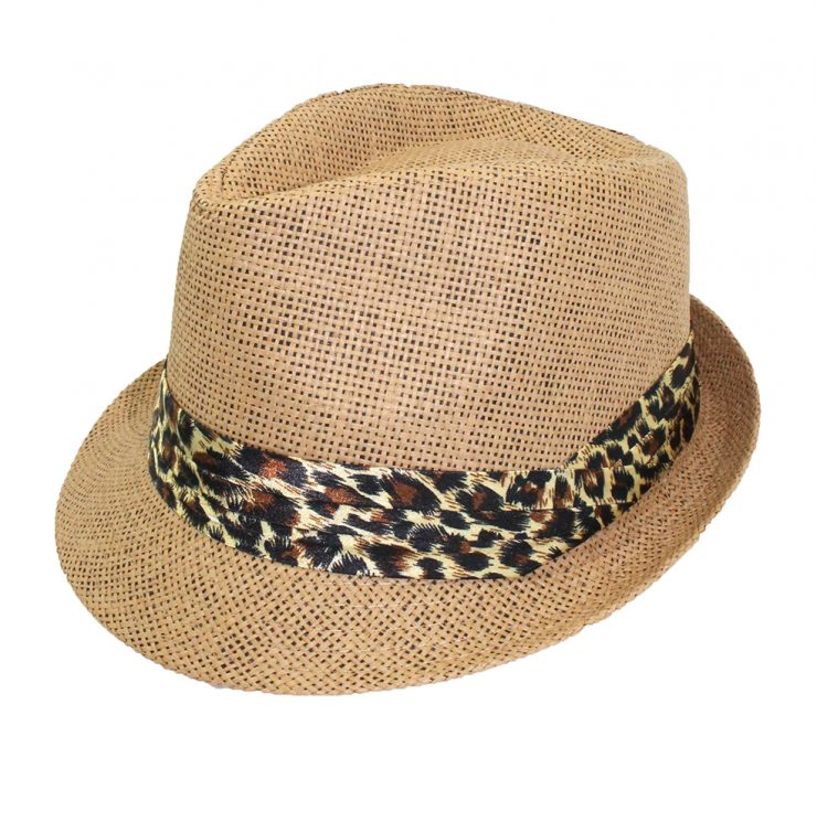 A photo of the Leopard Fedora product