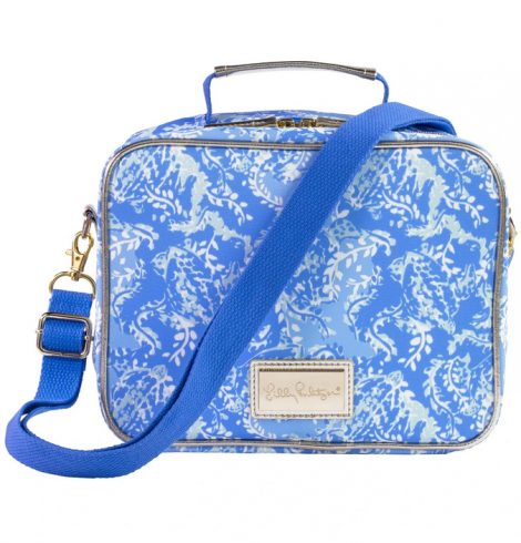 A photo of the Lilly Pulitzer Lunch Bag in Turtley Awesome product