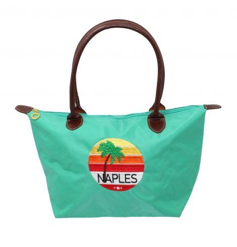 A photo of the Naples Sunset Tote product