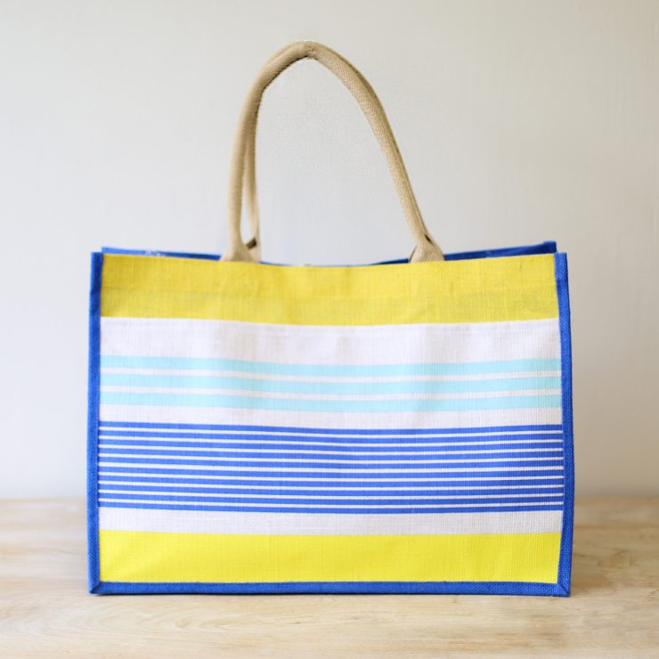 A photo of the Paradise Jute Pocket Tote product